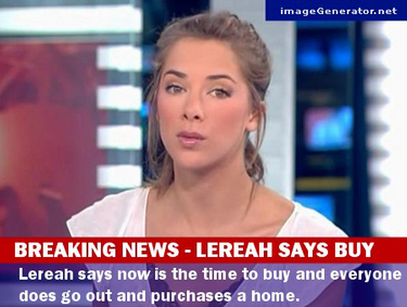 Lereah Says Buy