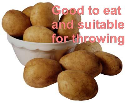 Throwing Potatoes