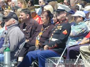 Golden Gate Cemetery Memorial Day - United States Marine