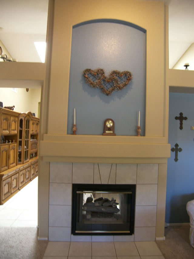 Two way fireplace for 2 way fireplace