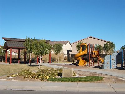 Twin Knolls Park in Mesa, Arizona real estate