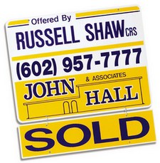 smaller SOLD SIGN